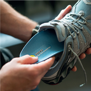 the process of custom insoles