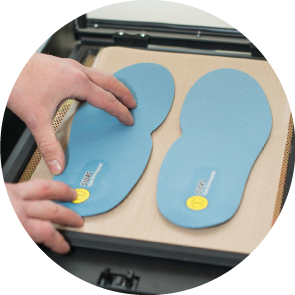 CORRECT INSOLE SELECTION